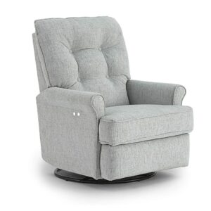 carissa recliner, swivel recliner, swivel glider, power recliner, custom recliner, home furniture store
