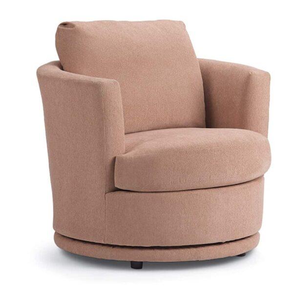 tina swivel chair, swivel chair, custom chair, nest chair, small nest chair, furniture store