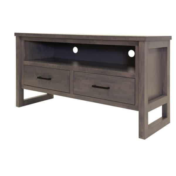 custom made edgecomb tv console with drawers