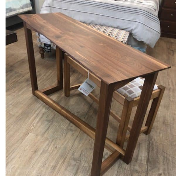 Solid Walnut Zeus Console Table On Sale