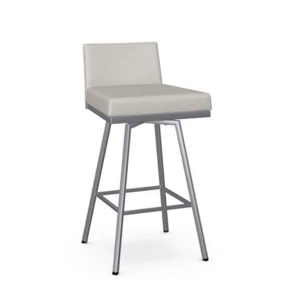 light fabric on custom made in canada linea swivel stool