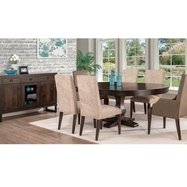 solid wood cumberland dining suite room setting