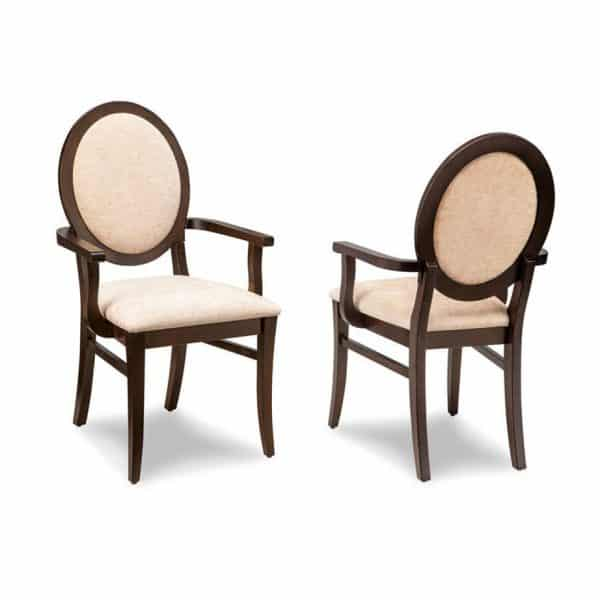 formal dining room sonoma upholstered arm chair